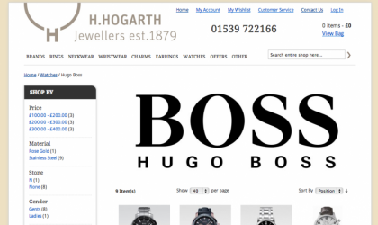 H.Hogarth website
