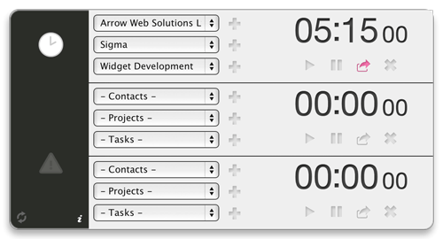 Sigma - Time tracking widget for FreeAgent