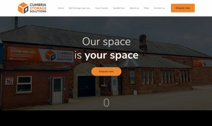 Cumbria Storage Solutions home page