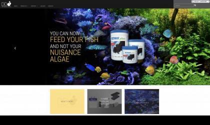 D&D The Aquarium Solution home page